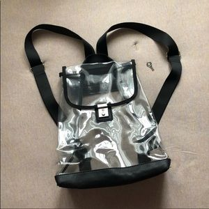 Handbags - Urban Outfitters Clear Backpack